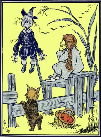 Chapter 3, Wizard of Oz, How Dorothy Saved the Scarecrow