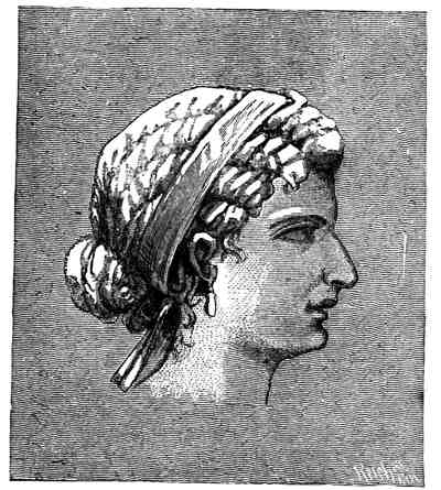 Cleopatra - portrait from coins