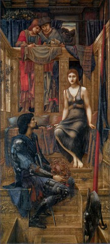 """King Cophetua and the Beggar Maid,"" 1884, by Edward Burne-Jones"