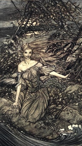undine under the branches