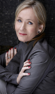 JK Rowling at Exeter College, Oxford