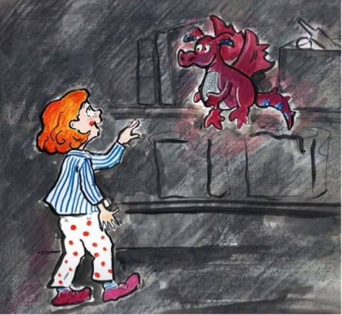 Georgia and the dragon by harry Oulton illustrated by Janet Cheeseman