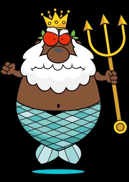 Father Thunder - African God of Sea and Storms from Anansi Stories