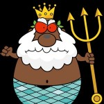 Father Thunder - African God of Sea and Storms from Anansi