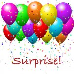 surprise party balloons