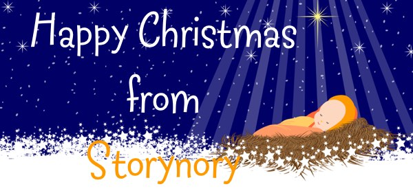 Happy Christmas from Storynory Winter BAby