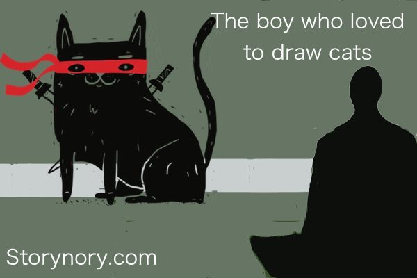 The Boy Who Loved to Draw Cats
