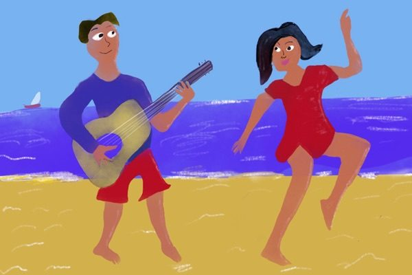 Let's go to the beach – song