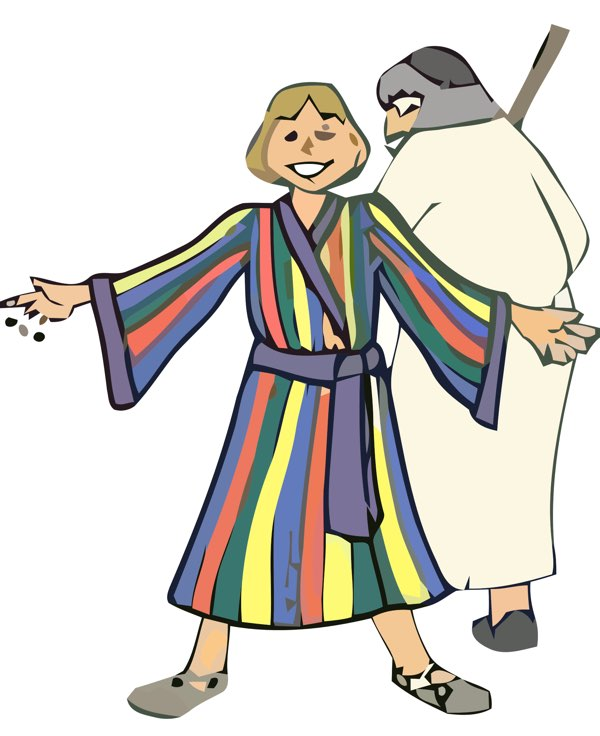 Joseph Coat of Many Colours from Bible