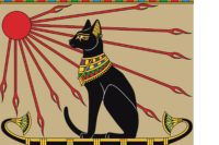Cat on Egyptian Boat