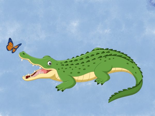 Song: How doth the Crocodile?