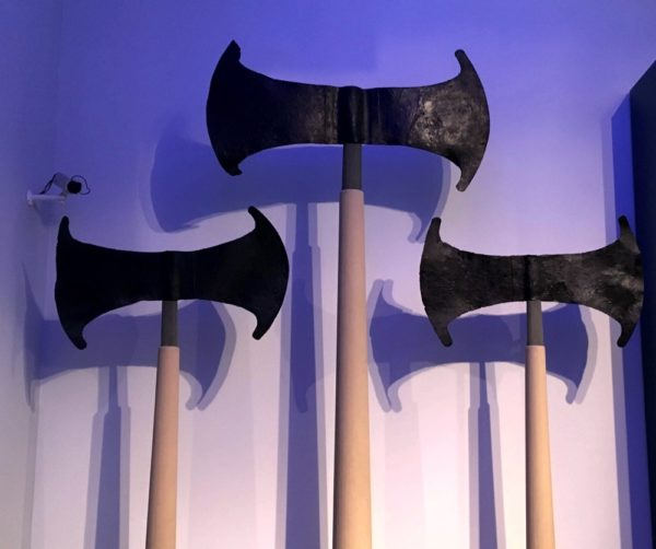 axes from Minoan times
