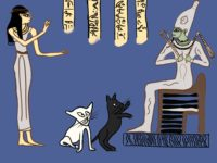 Isis Osiris Lapis on the Land of the Dead of Ancient Egypt