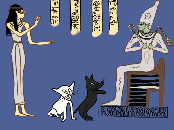 Lapis and the Ghost Cats Part 2