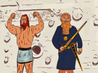 Gilgamesh and Enkidu by Bertie of Storynory